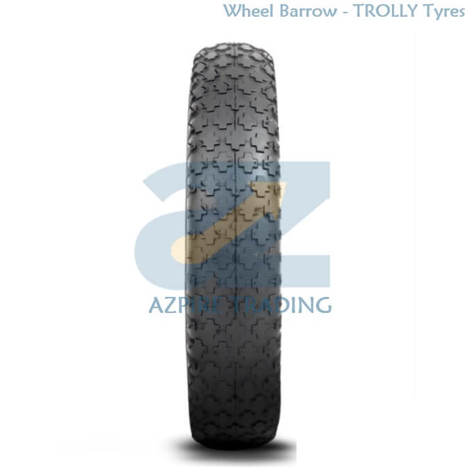 AZ-WB-005 - Wheelbarrow Trolly Tyre