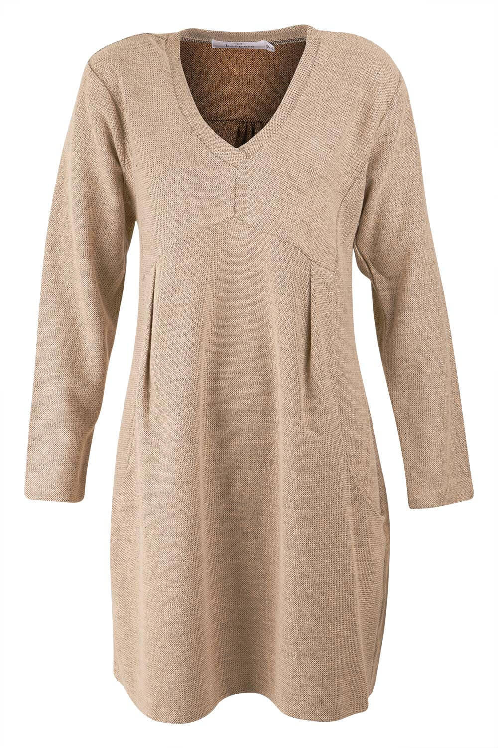 Womens V Neck Tunic Dress