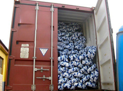 Tyre Tube Stuffing Container Picture
