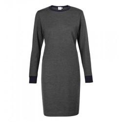 Womens Vintage Wool Long Sleeve Dress