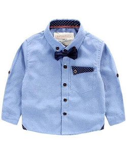 Kids Formal Shirt With Bow