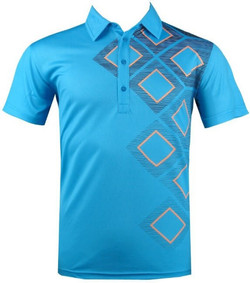 Mens Golf Wear Polyester or Spandex Polo T-Shirt