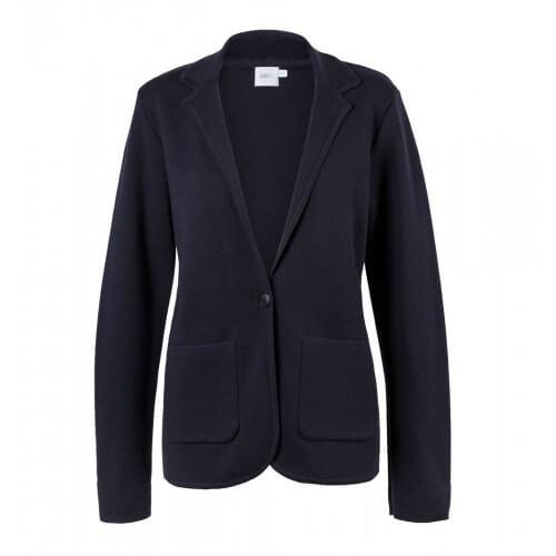 Womens Fine Merino Wool Milano Blazer