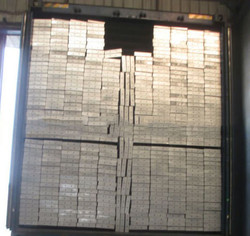 Steel Planks - Container Packing