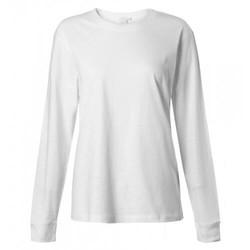 Womens Cotton Long Sleeve Relaxed T-Shirt