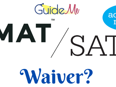 Why is an SAT or GMAT waiver not necessarily a good thing for you?
