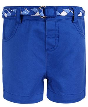 Kids Shorts With Belt