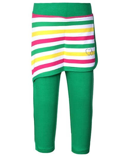 Kids Leggings With Short Skirt