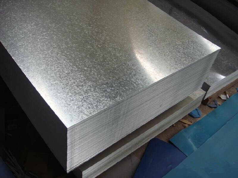 Steel Plain Flat Sheet Galvanized
