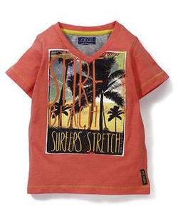 Kids Half Sleeves Printed T-Shirt