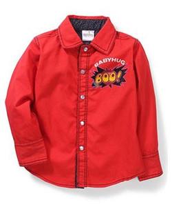 Kids Full Sleeves Printed Shirt