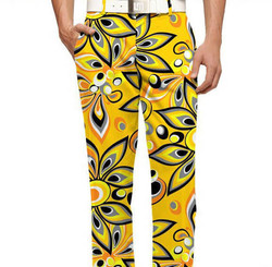 Mens Dri Fit Golf Pant Logo Label & other Pattern Designs Sublimation Print