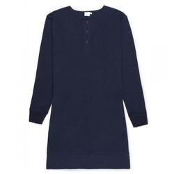 Womens Cotton Henley Dress