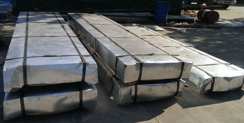 Steel Corrugated Sheet Galvanized - Packing