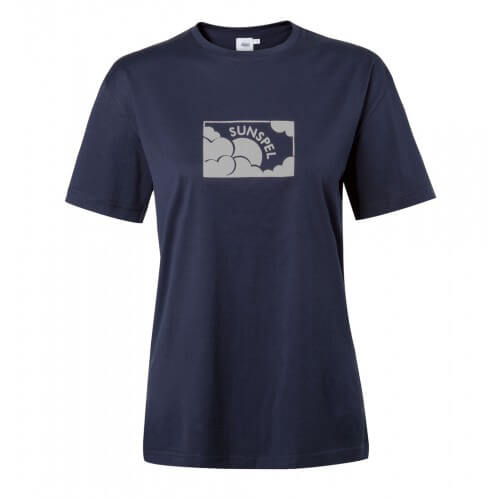 Womens Long-Staple Cotton Printed T-Shirt