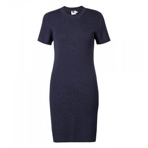 Womens Fine Merino Short Sleeve Dress
