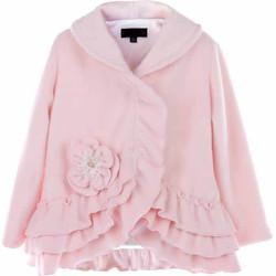 Girls Ruffled Shirley Coat