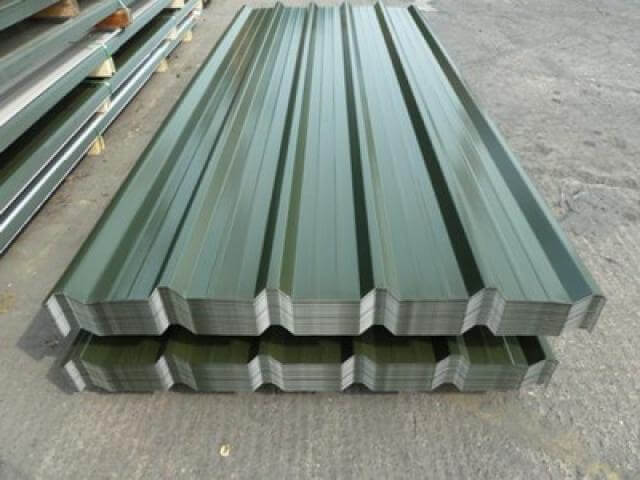 Aluminum Corrugated Roofing Sheets Roll