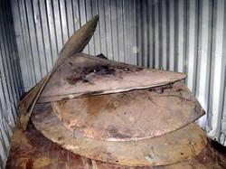 Ship Propellor (ALBC3 or Mn Bronze) Scrap