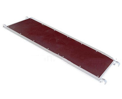 Scaffolding Board Aluminum Plank With Plywood Atop