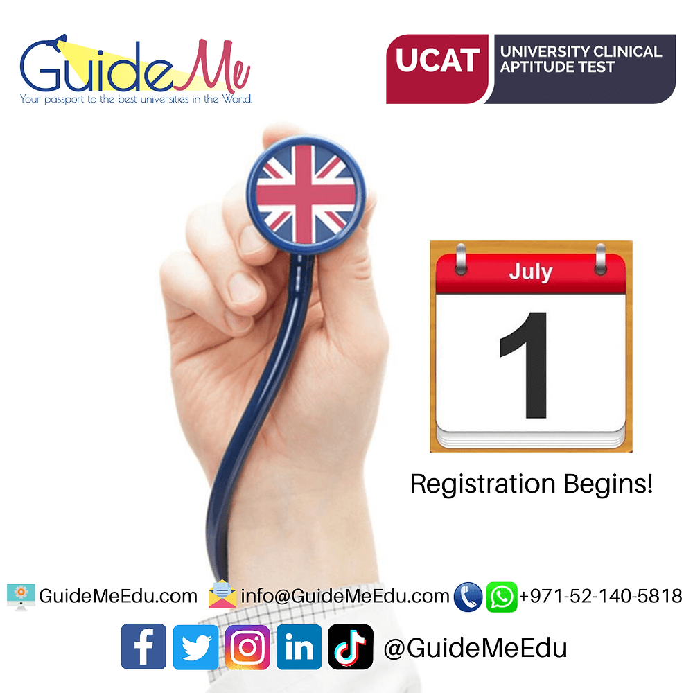 UCAT Registration begins on July 1 2020: Study Medicine in Ireland, Study Medicine in UK, Admissions Expert UAE, Best UCAT classes Dubai, Best UCAT classes Abu Dhabi, Best UCAT classes UAE, Best UCAT training in Dubai, Best UCAT training in Abu Dhabi, Best UCAT course in Dubai, Best UCAT course in Abu Dhabi, UCAT Courses in Dubai, UCAT Preparation Dubai, Best UCAT Coaching in Dubai, Best UCAT Coaching in Abu Dhabi, UCAT UAE, UCAT Coaching Dubai, UCAT classes in Dubai, UCAT prep Dubai, UCAT Dubai, UCAT training, UCAT prep course UAE, UCAT Abu Dhabi, Best UCAT institute in Dubai, Best UCAT institute in UAE, Best UCAT institute in Abu Dhabi, Best UCAT online coaching,