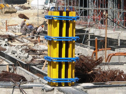 Timber Formwork For Concrete Column