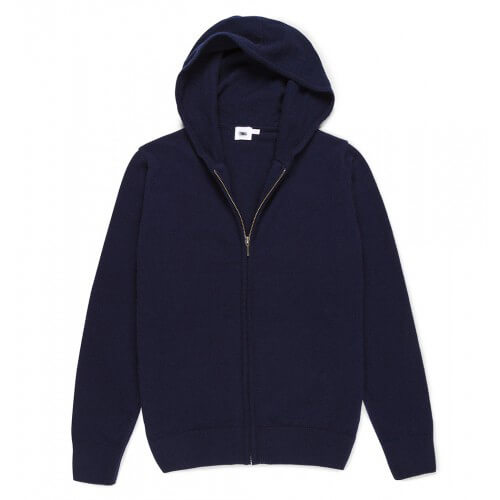 Womens Cashmere Hoodie