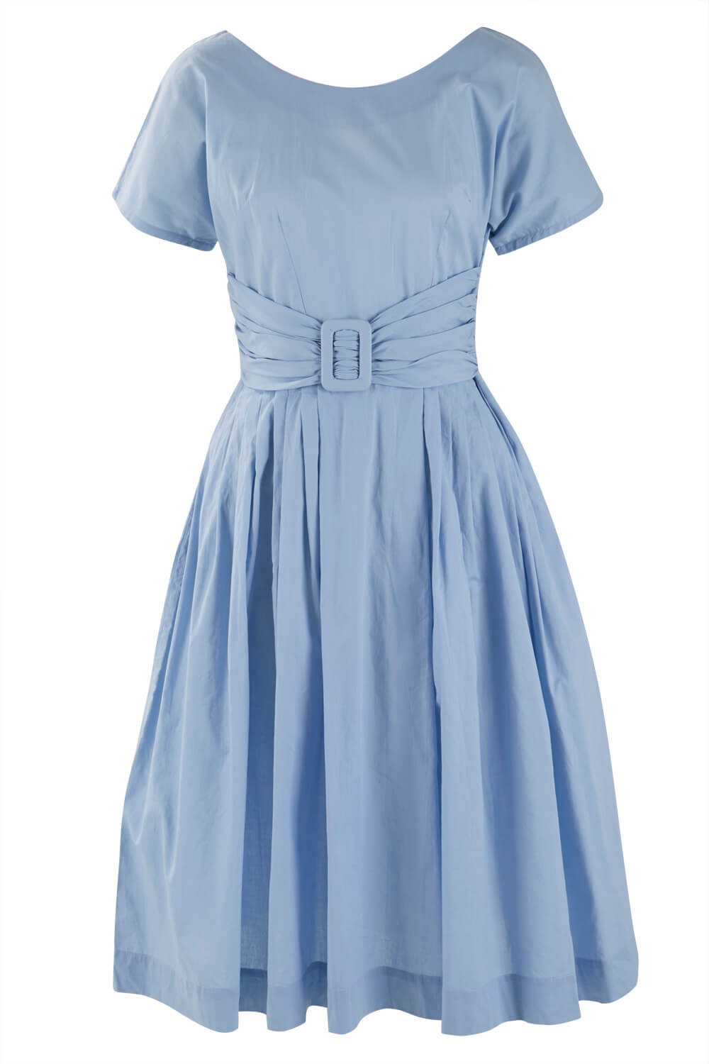 Womens Vintage Style Short sleeve Dress