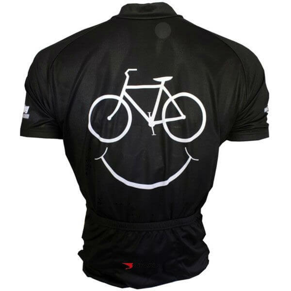 Unisex Polyester Cycling Wear Back