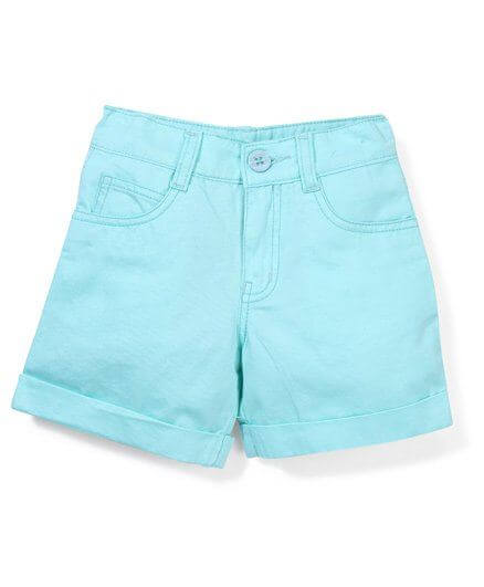 Kids Plain Shorts