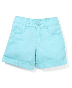 Kids Plain Shorts