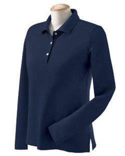 Womens Long Sleeve Polo