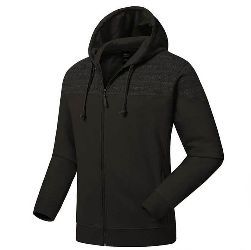 Mens Long Sleeve Cotton Hoody Sweatshirt