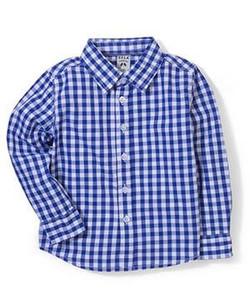 Kids Full Sleeves Checks Shirt