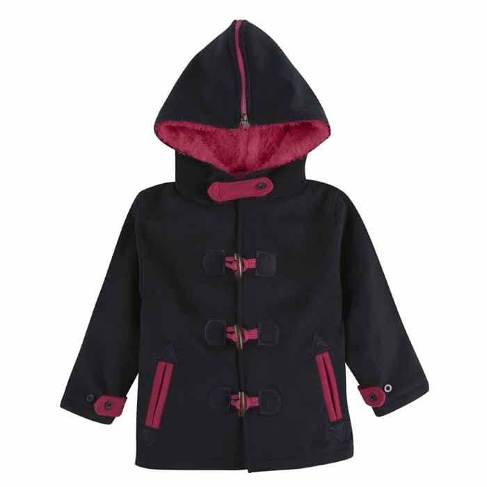 Girls Toggle Pea Coat