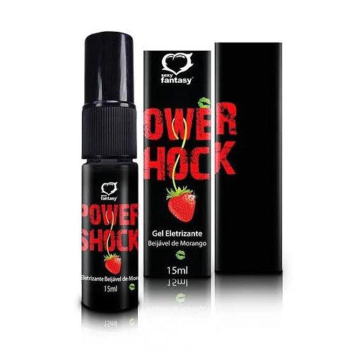 Gel Power Shock Excitante Spray Beijável Eletrizante