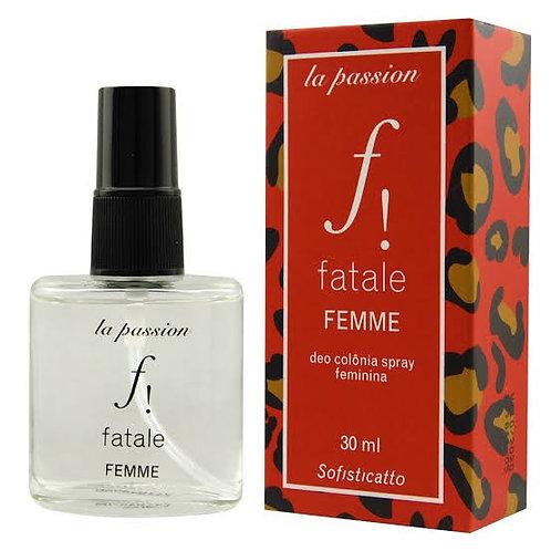 Perfume Afrodisíaco Feminino Femme Fatale