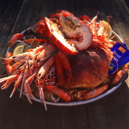 Restaurant fruits de mer Saint-Philibert