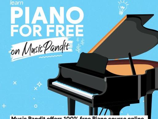 Learn Piano for free with MusicPandit