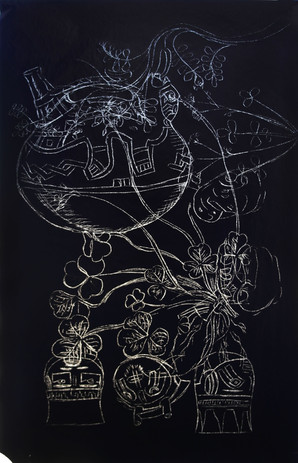 Circe Irasema-Black Memories (detail)-mi