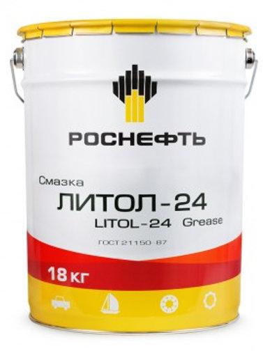 Смазка Литол-24 18кг/20л