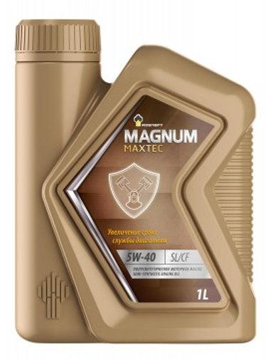 Масло моторное RN MAGNUM MAXTEC 5W-40 SL/CF полусинтетическое, универсальное 1л