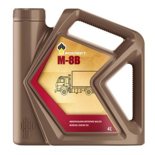 Масло моторное М-8В (автол) минеральное 4л