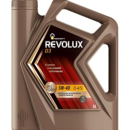 Масло моторное RN REVOLUX D3 5W-40 CI-4/SL синтетическое, универсальное 5л