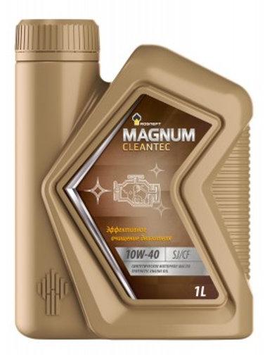 Масло моторное RN MAGNUM CLEANTEC 10W-40 SJ/CF синтетическое, универсальное 1л