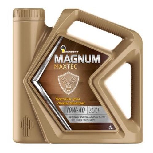 Масло моторное RN MAGNUM MAXTEC 10W-40 SL/CF полусинтетическое, универсальное 4л