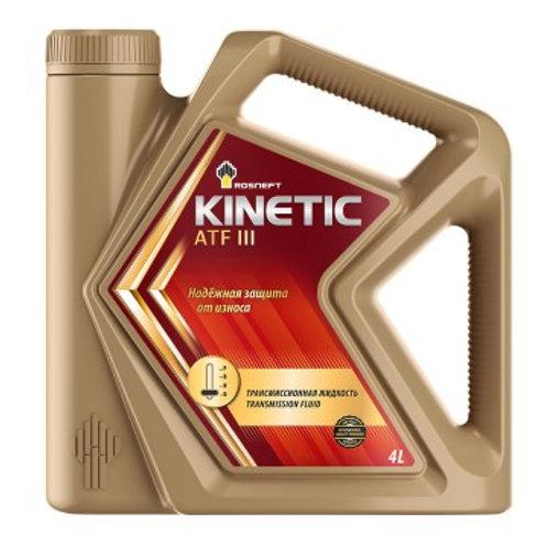Масло трансмиссионное RN KINETIC ATF III универсальная жидкость для АКПП 4л