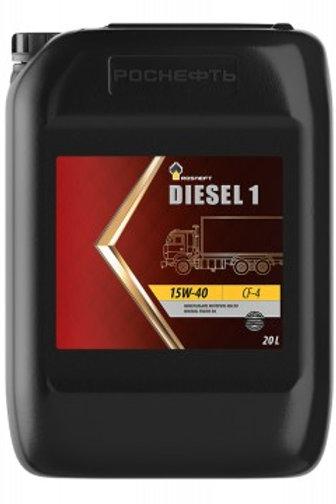 Масло моторное RN DIESEL 1 15W-40 CF-4 минеральное, дизельное 20л