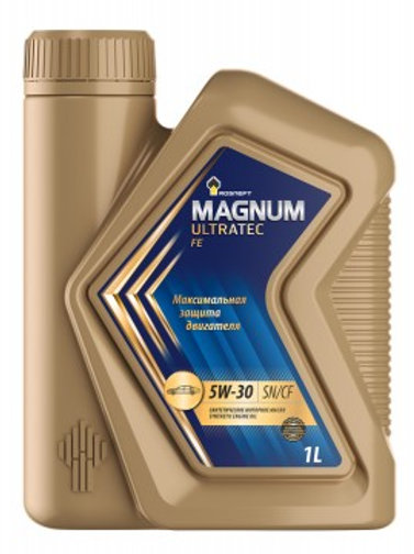 Масло моторное RN MAGNUM ULTRATEC FE 5W-30 SN/CF синтетическое, универсальное 1л