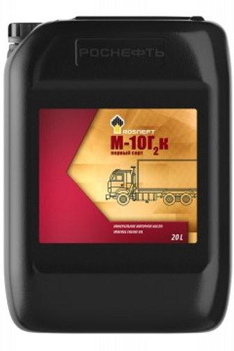 Масло моторное М-10Г2К минеральное 2